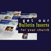 Get Bulletin Inserts for your church!