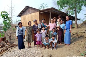 Myanmar Indigenous Ministries establishes churches and a Christian witness in tribal settlements where people practice traditional animist rituals. (Photo by Christian Aid Mission)