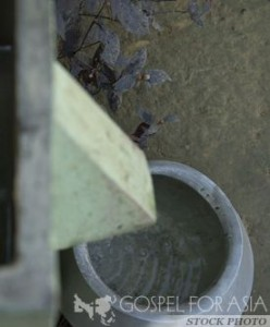 Sand Filters can change lives on many levels (photo courtesy of Gospel for Asia)
