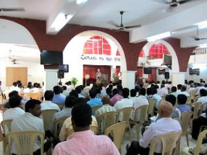 Orality Training Workshop with pastors and mission leaders in South Asia. (Image, caption courtesy LWI/ANS)