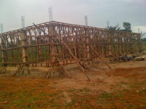 This is the Genesis Primary School that the team will help complete. (Image courtesy Orphan's Heart)